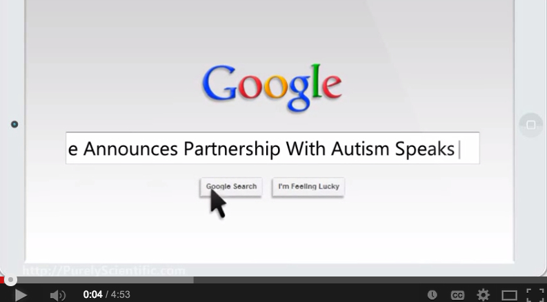 GooglePartnershipWithAutismSpeaks